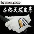 キャスコ 手袋 本格天然皮革 ゴルフグローブ TK-320Kasco パッケージなし アウトレット セール5枚同時ご購入でネコポス送料無料