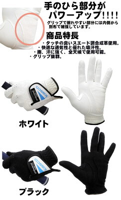 【5枚セット】キャスコ 手袋 スエード調合成皮革ゴルフグローブ TK-113アウトレットセール 画像2
