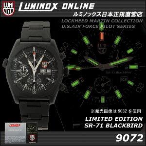 緊急入荷!ラスト1本!【世界限定777本】LUMINOX SR-71BLACKBIRD LIMITED EDITION 9072 VALJOU...