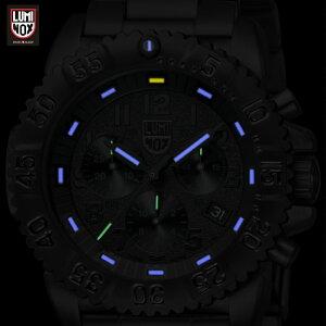 ルミノックス3182BO【日本正規保証2年付】【送料無料】ネイビーシールズスティールカラーマーククロノグラフ3180シリーズブラックアウトLUMINOXNAVYSEAL[腕時計][ルミノックス直営店][T25表記][正規品][メンズ腕時計クオーツミリタリーウォッチ]