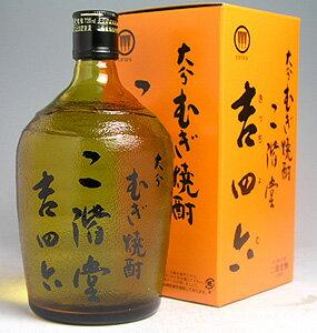 ギフト吉四六・オリジナル瓶入り大分麦焼酎720ml