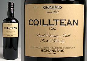 コイルテン ハイランド パーク サマローリ[1986]オールドヴィンテージ 0825祭2