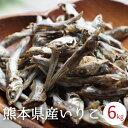 いりこ 煮干し 国産 熊本県産 6kg (3kg x2袋入り) 天草産 食べるいりこ 食べる煮干し 無添加 出汁 健康おやつ カルシウム 間食にぴったり ダイエット