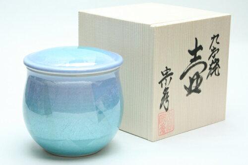 「銀彩グリーンブルー3寸:九谷焼」0...