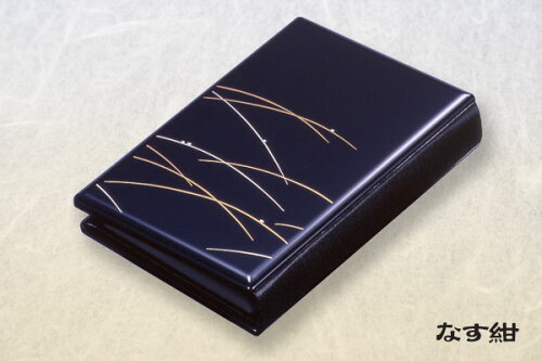 携帯仏壇 携帯位牌マインドアルテ つゆ芝なす紺文字彫無料 0801a001a