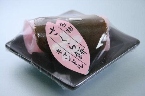 ろうそく 蝋燭 カメヤマローソク さくら餅キャンドル(桜餅ロウソク) 故人の好物シリーズ 0305a009a