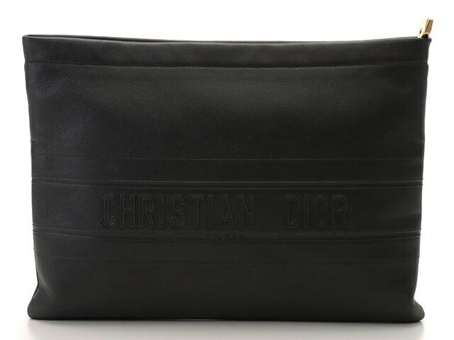 メンズバッグ, クラッチバッグ・セカンドバッグ Dior STRIPE POUCH 431