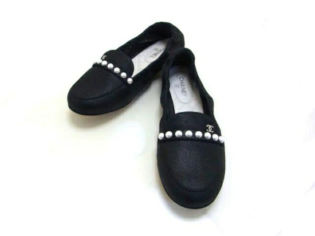 CHANEL Shoes Women CHANEL 35 22.5cm200