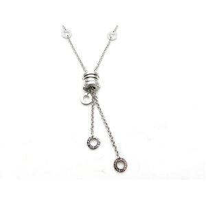 [Free Shipping] BVLGARI Bvlgari Precious Metals & Jewels B-zero1 Necklace WG [437] [Used] [Daikokuya]