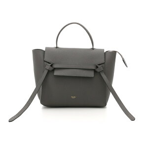 [Free Shipping] CELINE Celine 2way Shoulder Micro Belt Bag Gray Calf Stamped KS [472] [Used] [Daikokuya]