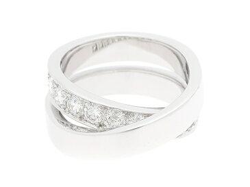 [送料無料]Cartier リング パリリング K18ホワイトゴールド ダイヤモンド #49(日本サイズ9号)【204】【中古】【大黒屋】