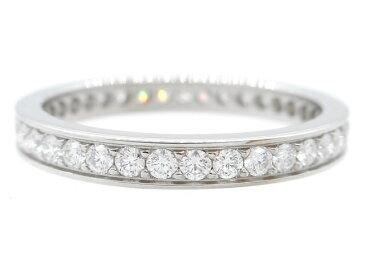 【送料無料】Cartier カルティエ ダムールリング PT950プラチナ ダイヤモンド 2.5g 48号【471】【中古】【大黒屋】
