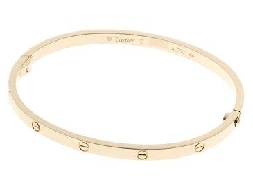【送料無料】Cartierカルティエ ミニラブブレスレット YG #17【430】【中古】【大黒屋】