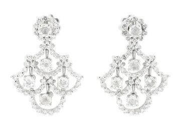 【送料無料】DAMIANI ダニアーミ WG ダイヤモンド ジュリエットピアス 【430】【中古】【大黒屋】