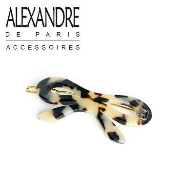【MAX1,000円OFFクーポン】アレクサンドル ドゥ パリ ヘアアクセサリー ALEXANDRE DE PARIS ヘアピン ミニリボン ヌガー ギフト可 ブランド髪飾り通販