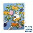 アラビア(Arabia)ムーミン デコツリー (moomin deco tree) 壁掛け用プレート フローレン 【楽ギフ_包装】【楽ギフ_のし宛書】