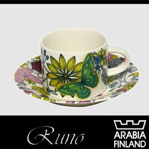 アラビア Arabia【期間限定】アラビア(Arabia) ルノ バタフライ カップ&ソーサー 280ml Arab...