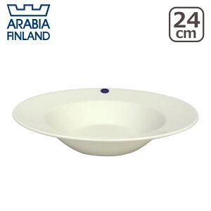 アラビア プレートディープ ホワイト フィンランド