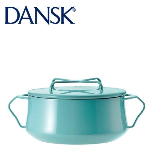 DANSK ダンスク 両手鍋 18cm ホーロー 鍋 コベンスタイル 2 ティール 833297N 2QT 北欧【楽ギフ_包...