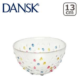 【ポイント5倍 7/20】DANSK ダンスク BUBBLE CONFETTI バブルコンフェティ フルーツボウル 13cm 北欧 食器 ガラスウェア ギフト・のし可