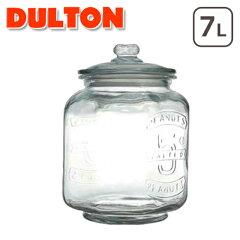 【MVP受賞%off◆期間限定セール】ダルトン★ガラス クッキージャー 大容量保存瓶!7L DULTON♪