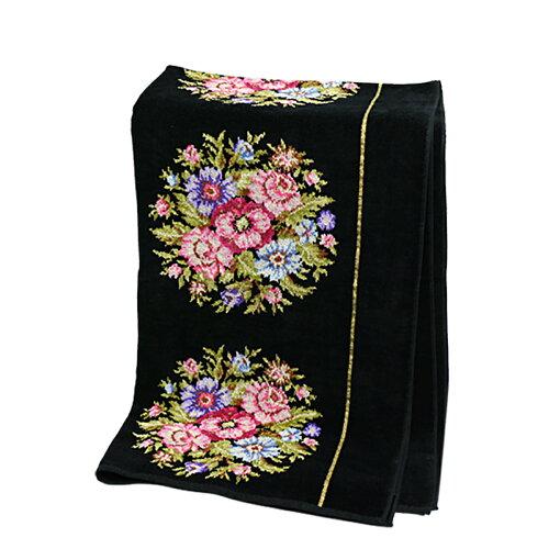 FEILER フェイラー バスタオル ビエンナ ブラック 75x150cm Chenille Bath Towel Viennna Black【...