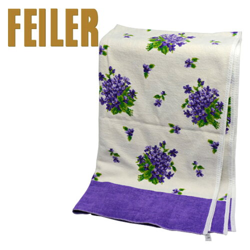 FEILER フェイラー バスタオル バケット パープル 75x150cm Chenille Bath Towel Bukket【gekitoku...