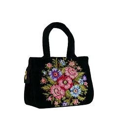 フェイラー FEILER バッグ ビエンナ Vienna Bag TA1 (ショルダーバッグにも)ハンドバッグ 花柄 シュニール織 ギフト 贈り物 レディース【楽ギフ_包装】【楽ギフ_のし宛書】