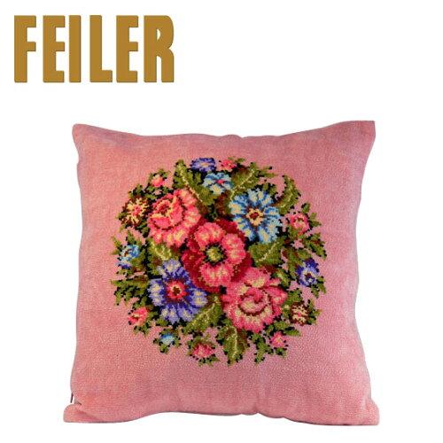 FEILER フェイラー クッションカバー ビエンナ ピンク Pillow Case Vienna Pink【楽...