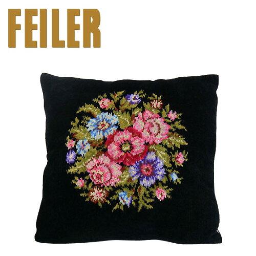 FEILER フェイラー クッションカバー ビエンナ ブラック Pillow Case Vienna Black...
