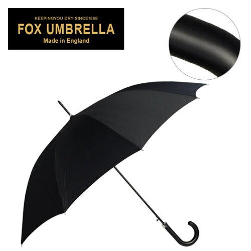 フォックスアンブレラズ FOX UMBRELLAS 傘 メンズ GA1 高級長傘 ブラック マットウッドクルックハ...