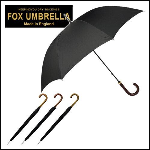 フォックスアンブレラズ FOX UMBRELLAS 傘 メンズ GM1 ポリッシュドハードウッドハンドル 長傘 選...
