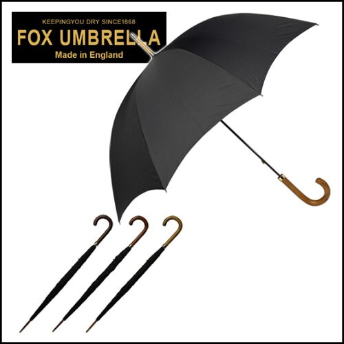 フォックスアンブレラズ FOX UMBRELLAS 傘 メンズ GT1 ポリッシュドハードウッドハンドル 長傘 選...