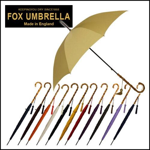 フォックスアンブレラズ FOX UMBRELLAS 傘 レディース WL4 ワンギーケインクルックハンドル 長傘 ...