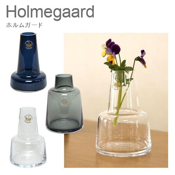 【ポイント3倍 4/15】ホルムガード フローラ フラワーベース H12 ガラス花瓶 北欧 丸 シンプルデザイン Holmegaard ギフト・のし可