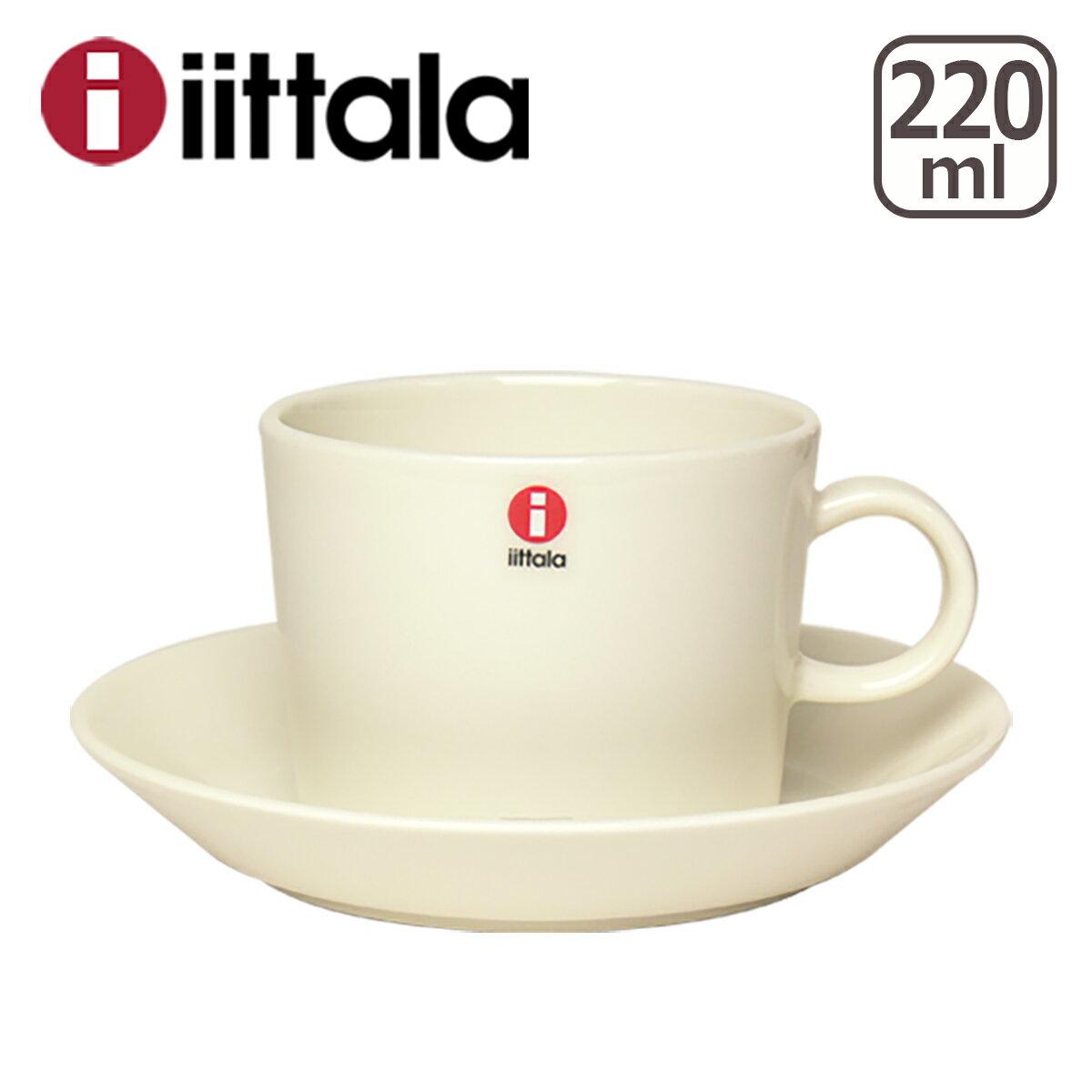 イッタラ iittala ティーマ (TEEMA) コーヒー カップ&ソーサーセット ホワイト マイカップ ita01-c001 北欧 フィンランド 食器 箱購入でギフト・のし可 GF3