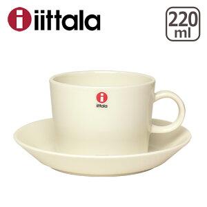 イッタラ ティーマ コーヒー ソーサーセット ホワイト フィンランド