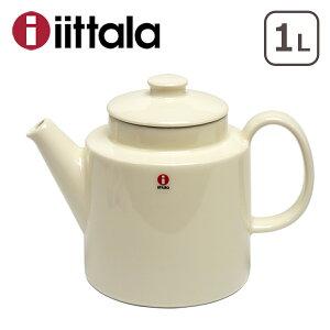 iittala イッタラ TEEMA(ティーマ) ティーポット 1L 蓋付 WHITE