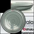 iittala イッタラ KASTEHELMI (カステヘルミ) プレート 26cm グレー(グレイ) ガラス 皿