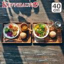 KEVNHAUN(ケヴンハウン)KDS.177-L ランチトレイ L ギフト・のし可 北欧 木製 食器 プレート ランチプレート ウッドトレイ トレー カフェ 長方形 アカシア 皿 KEVNHAUN