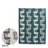【Max1,000円OFFクーポン】KLIPPAN クリッパン オーガニックコットン&シュニール織り ブランケット 140x180 Shore Birds ブルー ギフト可