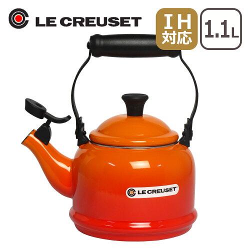 ルクルーゼ (ル・クルーゼ) デミ ケトル★オレンジ Le Creuset ...