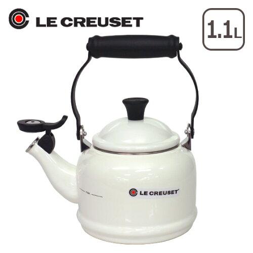 ルクルーゼ (ル・クルーゼ) デミ ケトル ホワイト Le Creuset【...