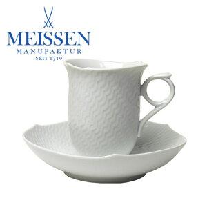 マイセン【47%off期間限定!!】マイセン(Meissen) コーヒーカップ&ソーサー 波の戯れ 000000-2...