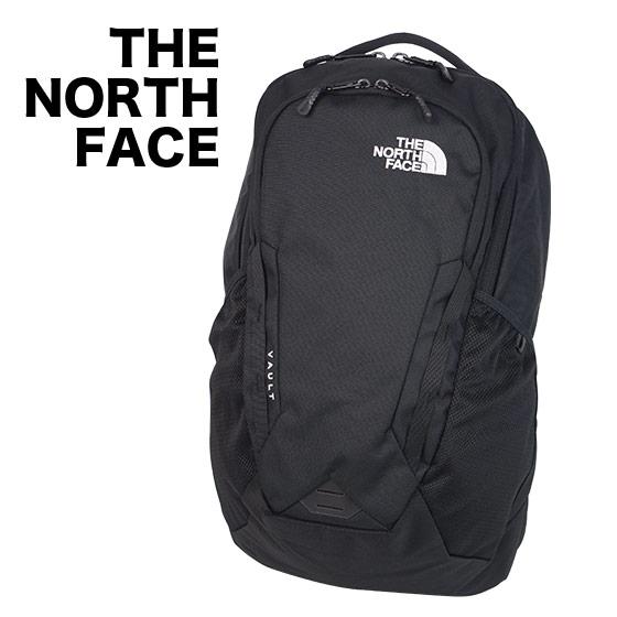 【24時間ポイント5倍】ノースフェイス リュック THE NORTH FACE VAULT ヴォルト バックパック BLACK メンズ レディース