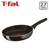 T-fal (ティファール) 直火専用(IH不可) ハードチタニウム プラス フライパン 27cm D51506