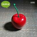 [ゴミ箱] QUALY チェリービン コンテナ(Cherry Bin / Container・さくらんぼ・サクランボ・収納・くず入れ・外国製・デザイン・おしゃれ・かっこいい・かわいい)クオリー