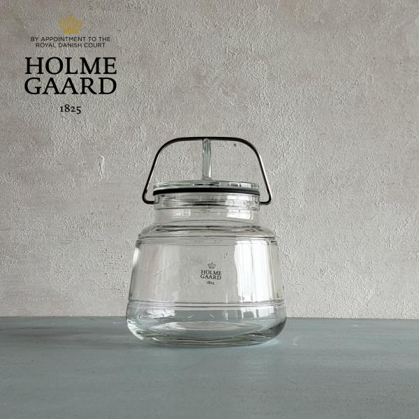 [ガラス容器]HOLMEGAARD SCALA STORAGE JAR 750ml(スカーラストレージジャー・0.75L・調味料・乾物・お菓子・北欧・おしゃれ・かっこいい・かわいい)ホルムガード
