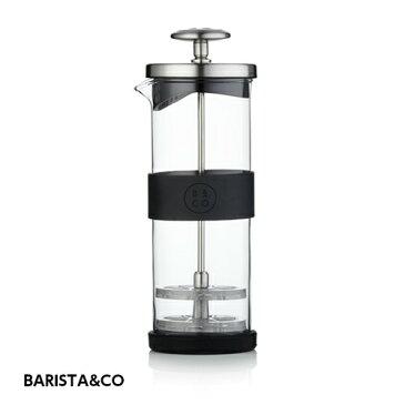 【カラフェ】BARISTA&CO ミルクフローサー 400ml(コーヒー・Milk Frother・Electric Steel・ミルク泡だて器・牛乳・0.4L・ミルクフォーム・バリスタ)
