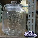 【ガラス容器】ダルトン ガラス クッキージャー 7L CH00−H05(GLASS COOKIE JAR・グラスジャー・ガラスジャー・ライスストッカー・米びつ・おしゃれ)DULTONの写真